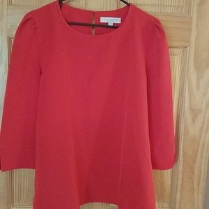 Red Loft structured top sz L